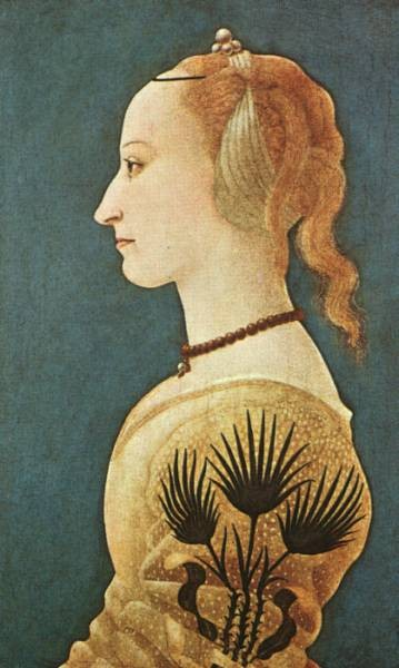 Portrait Of A lady In Yellow